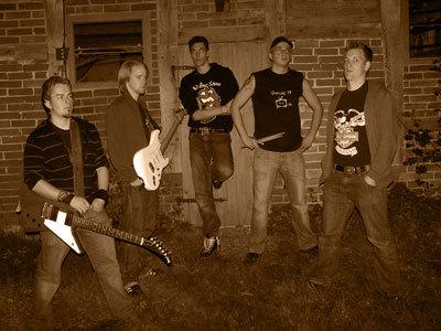 Slechte rockband foto