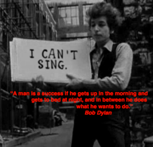 Bob Dylan Artiest quote
