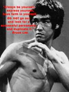 Bruce Lee quote acteur