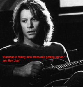 Jon Bon Jovi artiest quote citaat