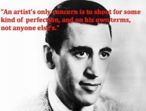 J.D. Salinger artiest quote