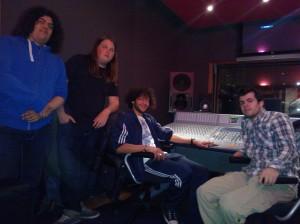 the timers in de studio